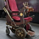 Steampunk Wheel Chair