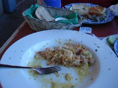 Santa Fe - Bent St. Cafe - Ham and Potato Casserole - Saturday noon
