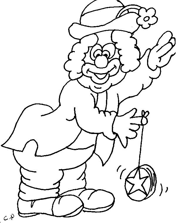 clown-coloring-picture