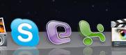 Skype, Explorer, Excel