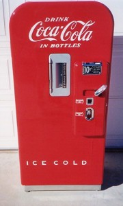 Model 39 Coke Machine 10 cents