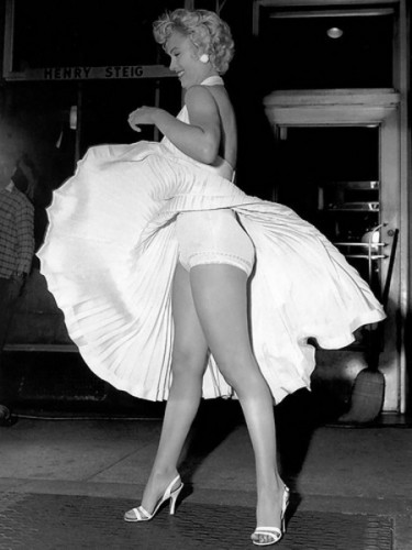 Marilyn Monroe Famous Subway Photo