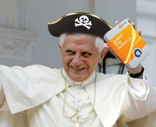 Pirate Pope Benedict
