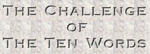 Challenge of Ten Words Writing