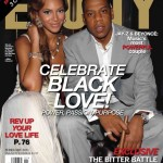 Beyonce and Jay-Z Ebony Cover