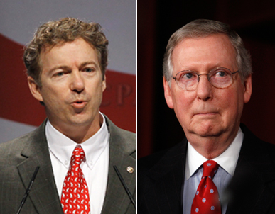 Rand Paul Mitch McConnell Kentucky