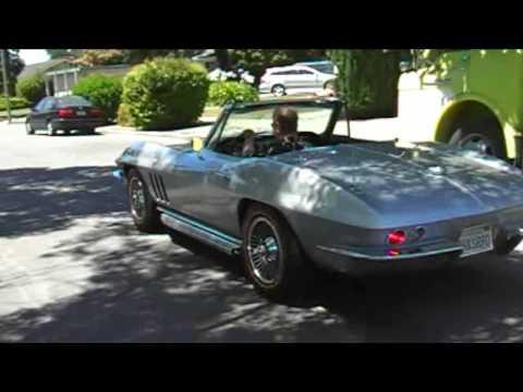 Classic Corvette Convertible