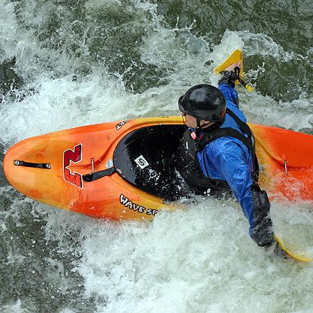 Whitewater Kayak Hand Paddles