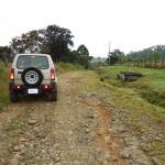 Farm Road in Costa Rica