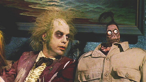 Beetlejuice shrunken head