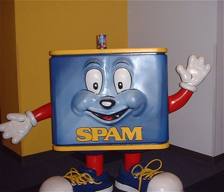 Happy Spam can