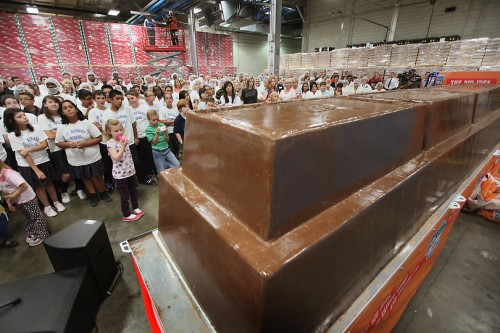 Worlds Largest Chocolate Bar