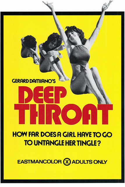 Deep Throat Movie Poster