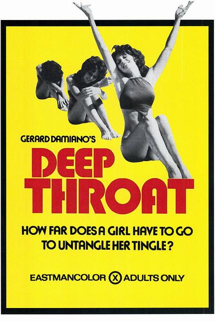 Deep Throat Movie Poster