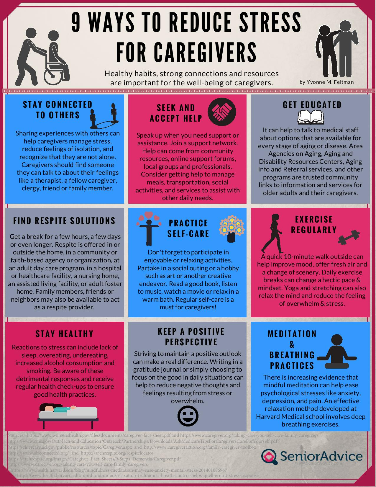 9 Ways to Reduce Caregiver Stress